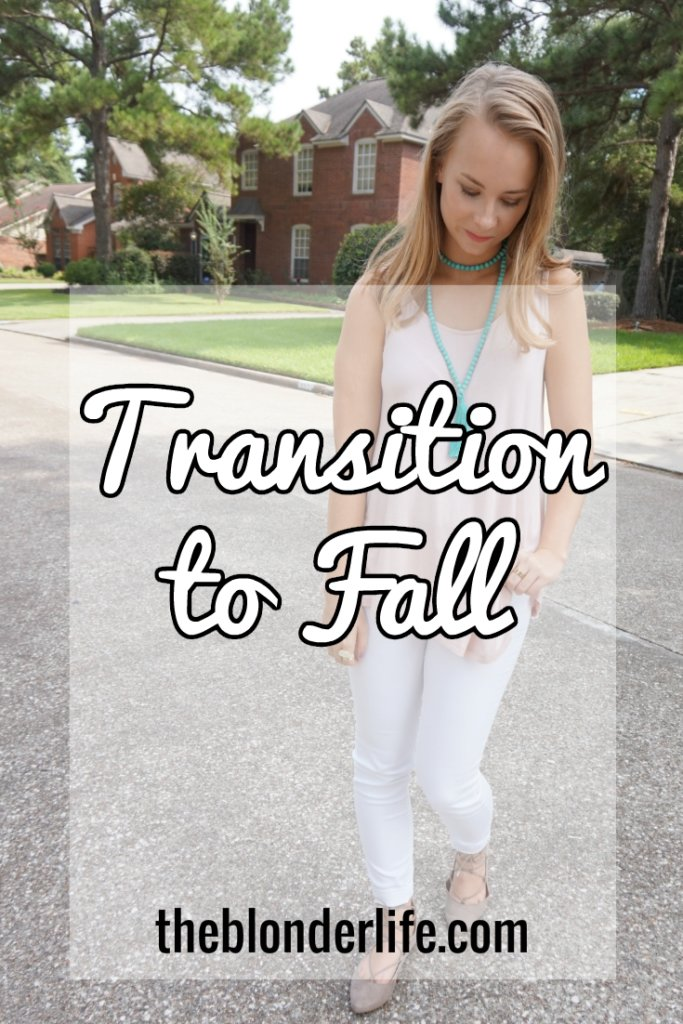 Transitioning into Fall in Warmer Weather