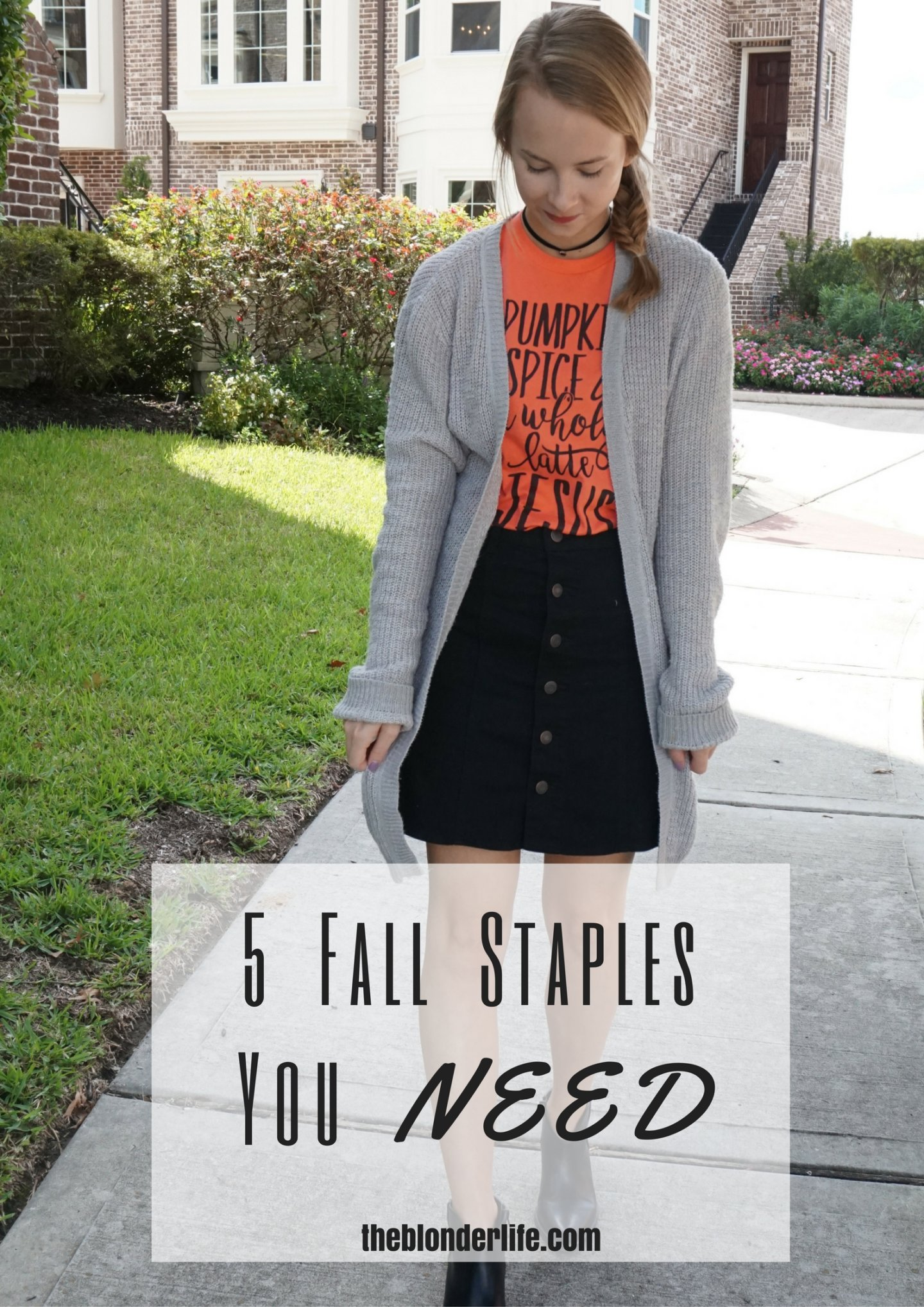 5 Fall Staples You Need In Your Closet