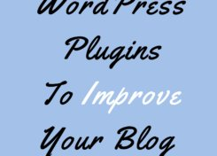 WordPress Plugins To Improve Your Blog | The Blonder Life