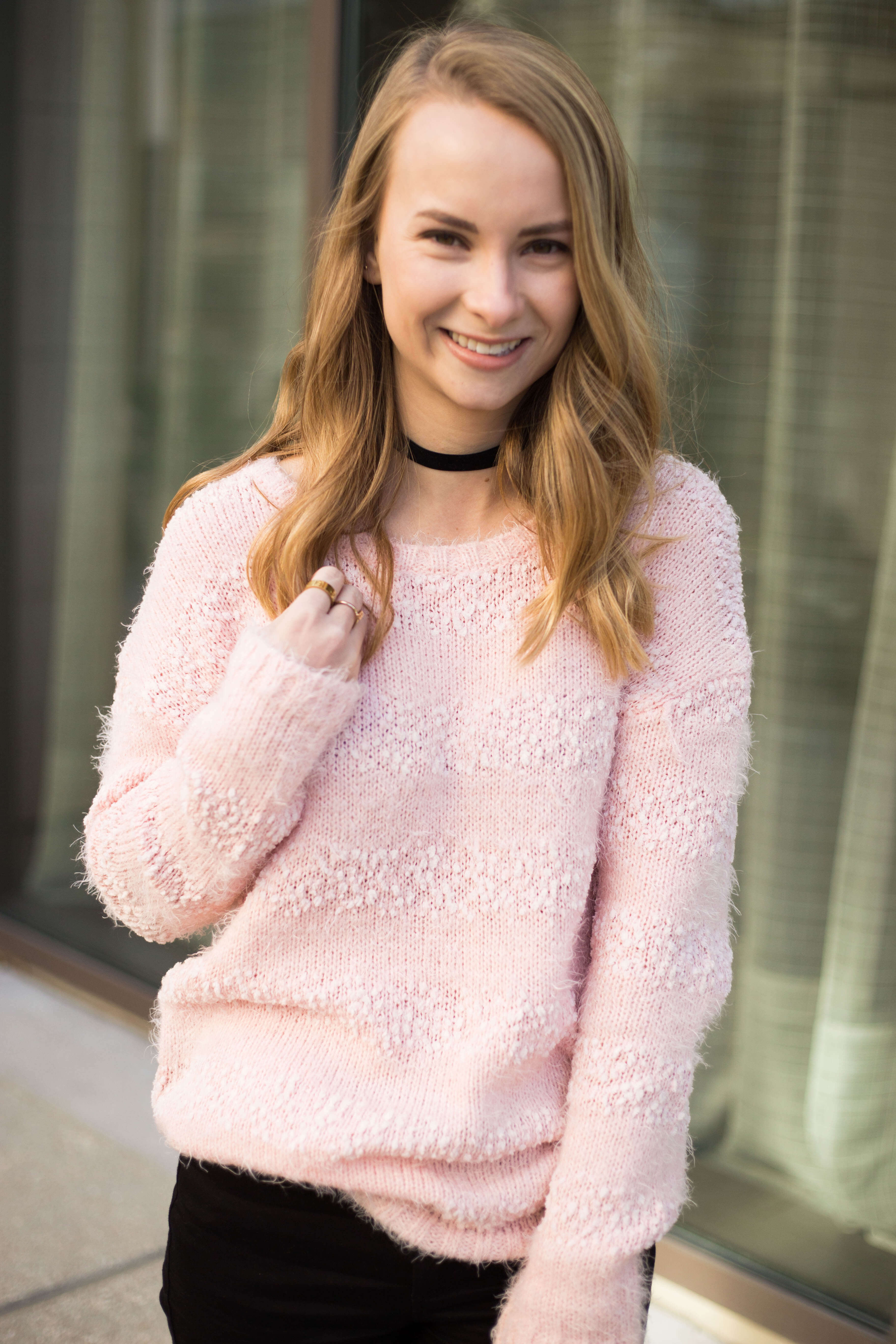 Pale Pink With A Bit Of Edge | The Blonder Life