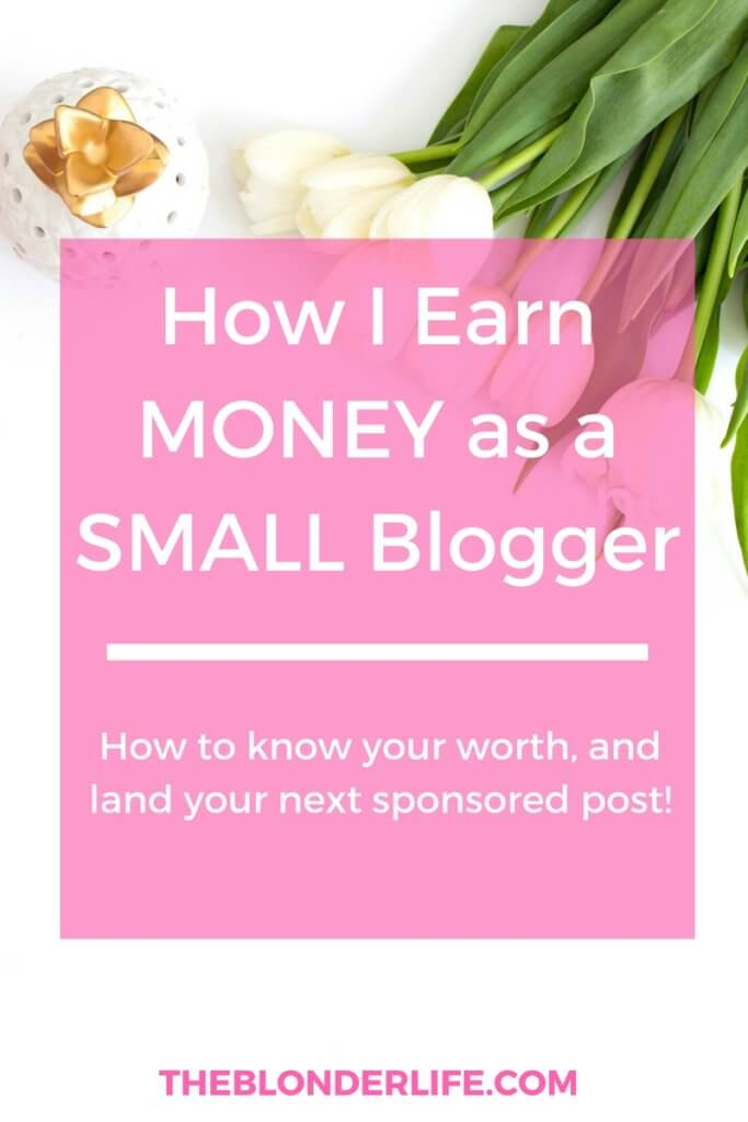 How to get paid your worth as a blogger. Learn that your time and brand is worth more than free product + land your next sponsored post. How to email back brands, know your worth and ask for a paid collab!