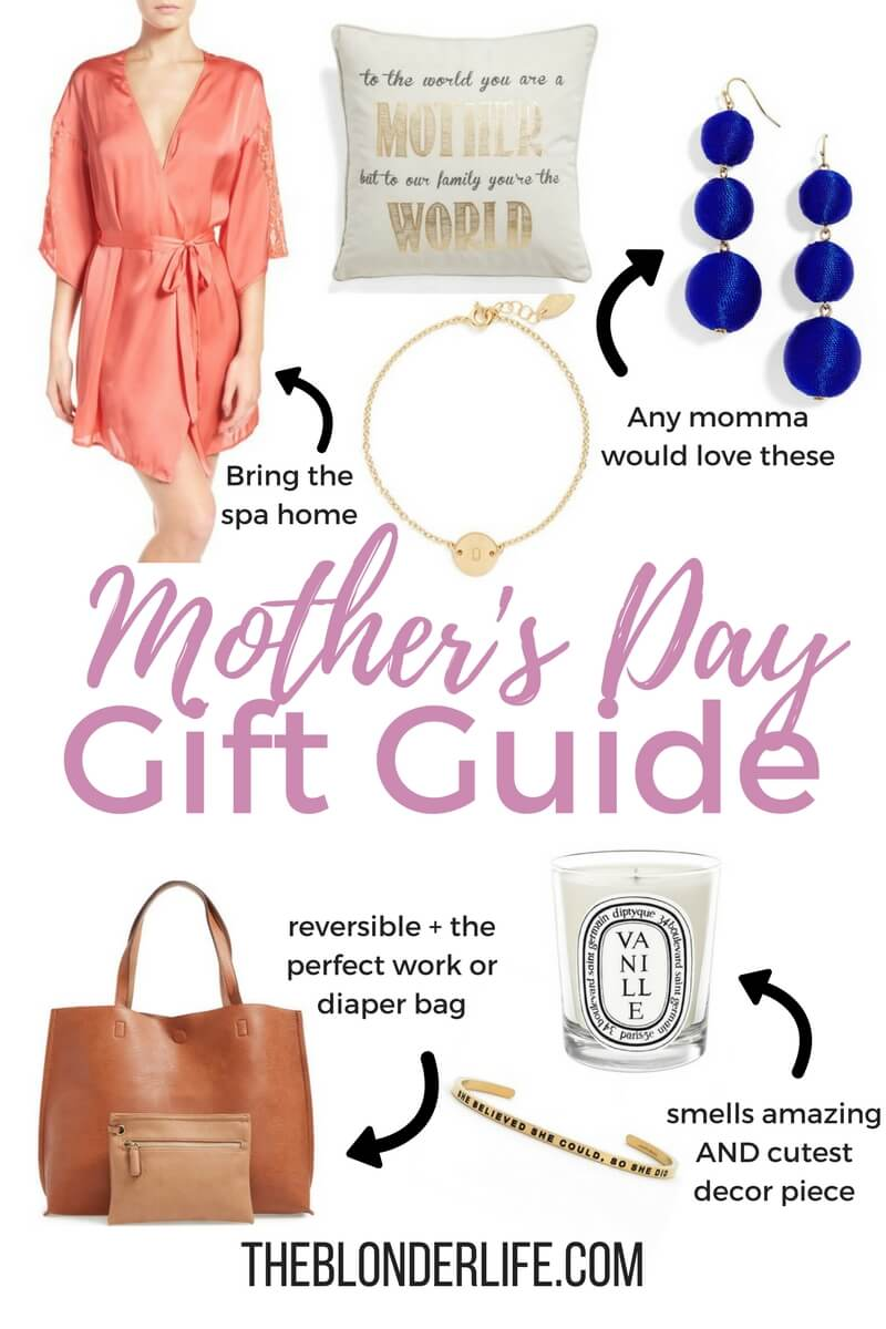 Gift Guide: Mother's Day 2017