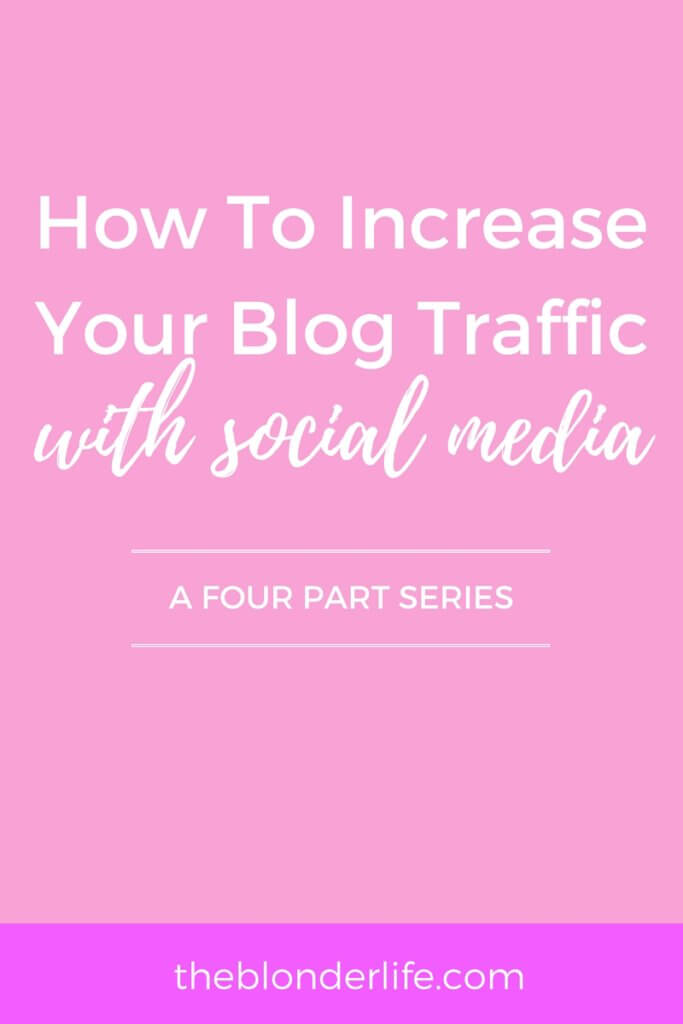 Growing your social media channels can be more beneficial than just an ego boost. Gaining followers can boost your traffic to your blog, and turn followers into loyal readers. Learn how I'm increasing my traffic with Twitter here!