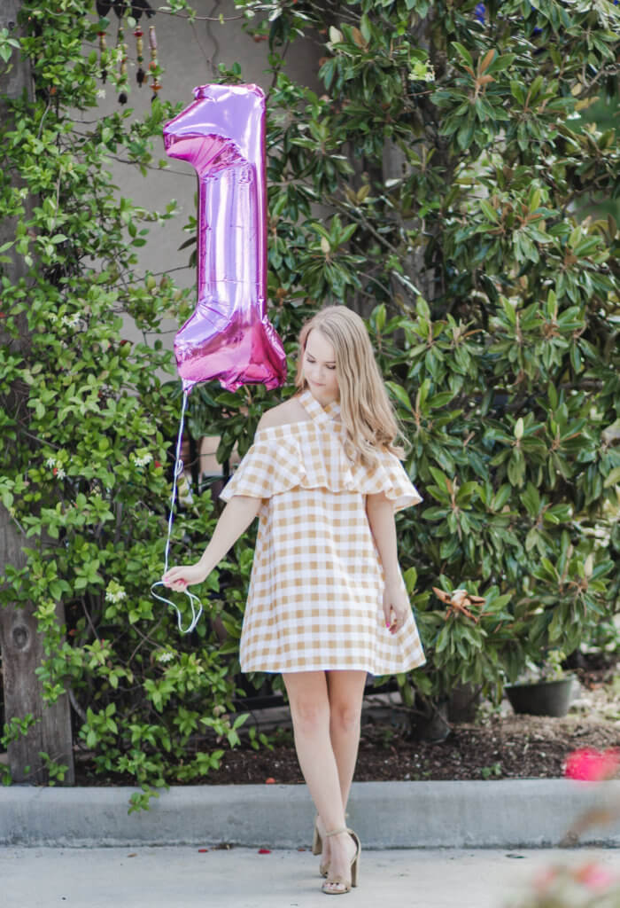 The Blonder Life turned ONE this past weekend, so I hosted a brunch with a few of my friends to celebrate. Blogging for a whole year I have learned so much about both blogging, and myself. What I learned, and wish I would have done different.
