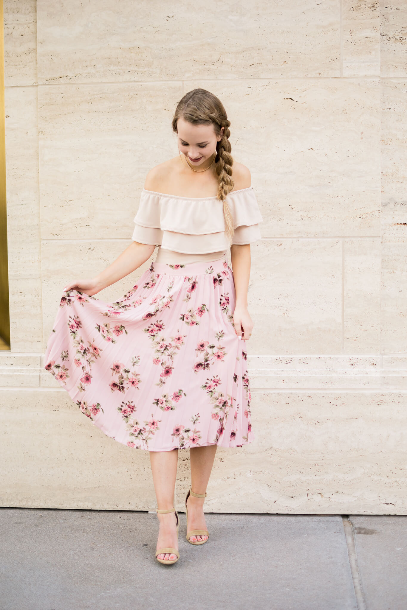 How To Rock A Midi Skirt As A Petite