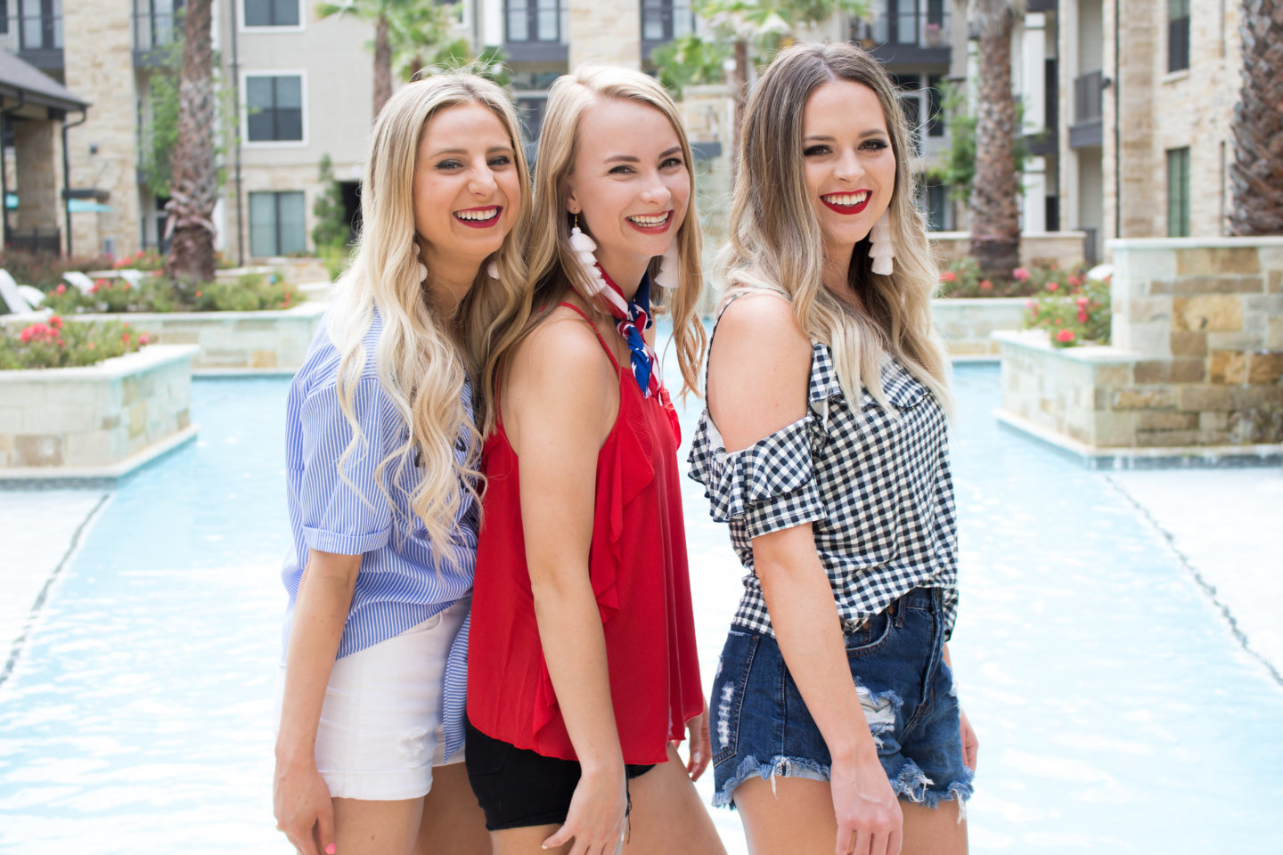 3 Outfit Ideas For The Fourth of July
