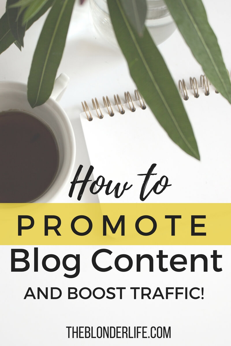Where To Promote Your Blog Posts After You Hit Publish
