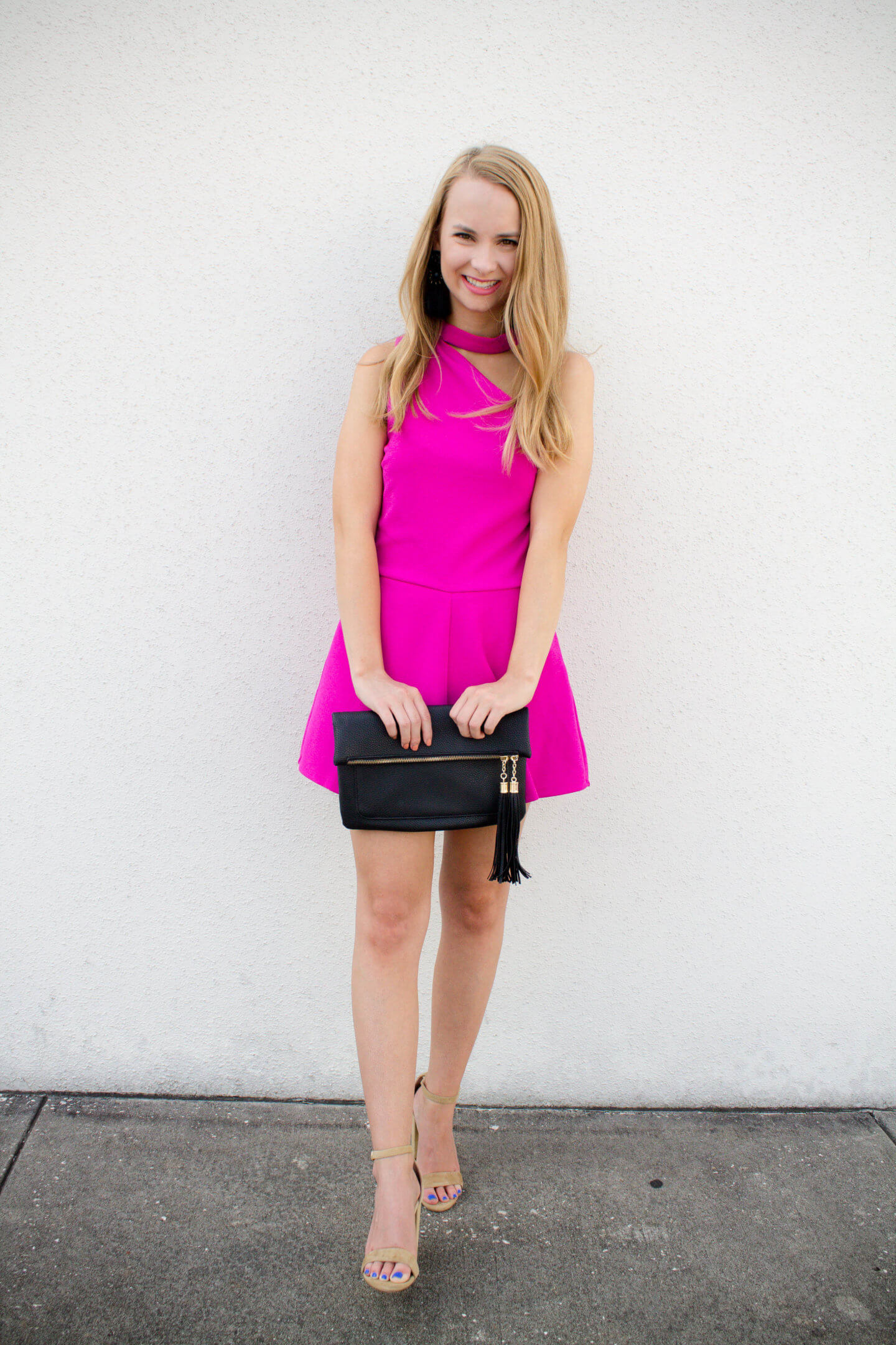 Pink One Shoulder Romper + $600 Nordstrom Giveaway