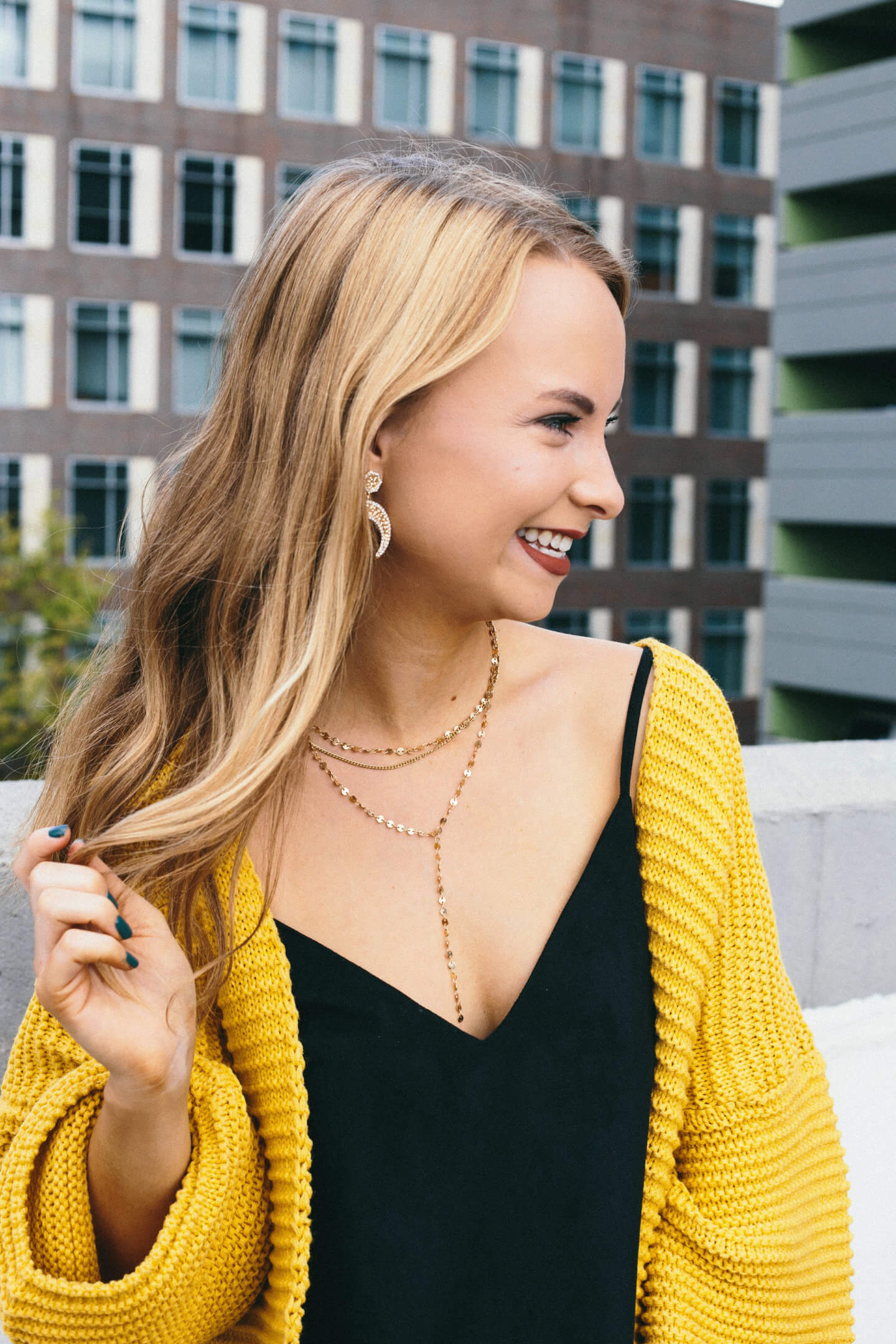 Life update, and what is planned for the blog in the next few weeks! This mustard cardigan is under $30 and so comfortable. Perfect cardigan for layering. The Blonder Life